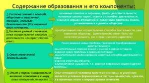 Что такое система образования: понятие и характеристика структура и компоненты